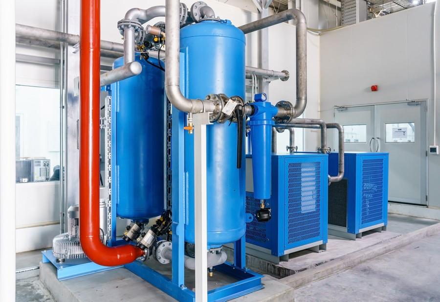 Compressore verticale