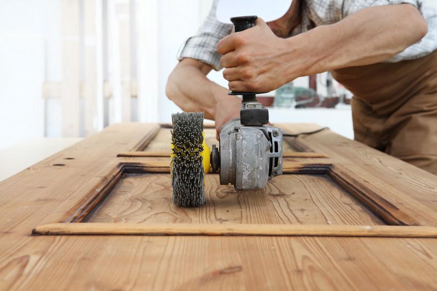 Spazzolatrice per legno